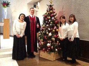 Kamogawa Church Merry Christmas