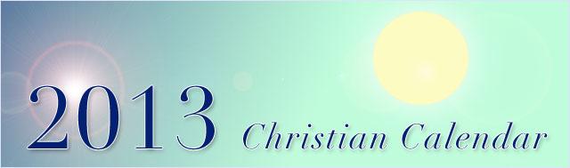 2013-christian-calendar